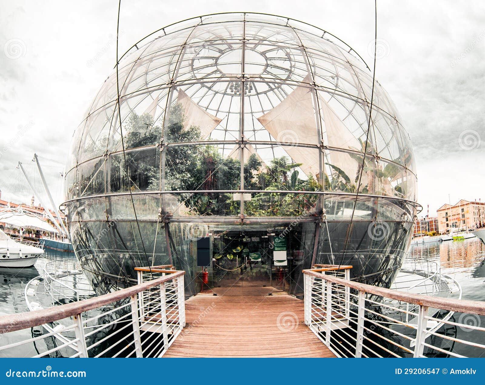 Biosfera. Génova, Italia