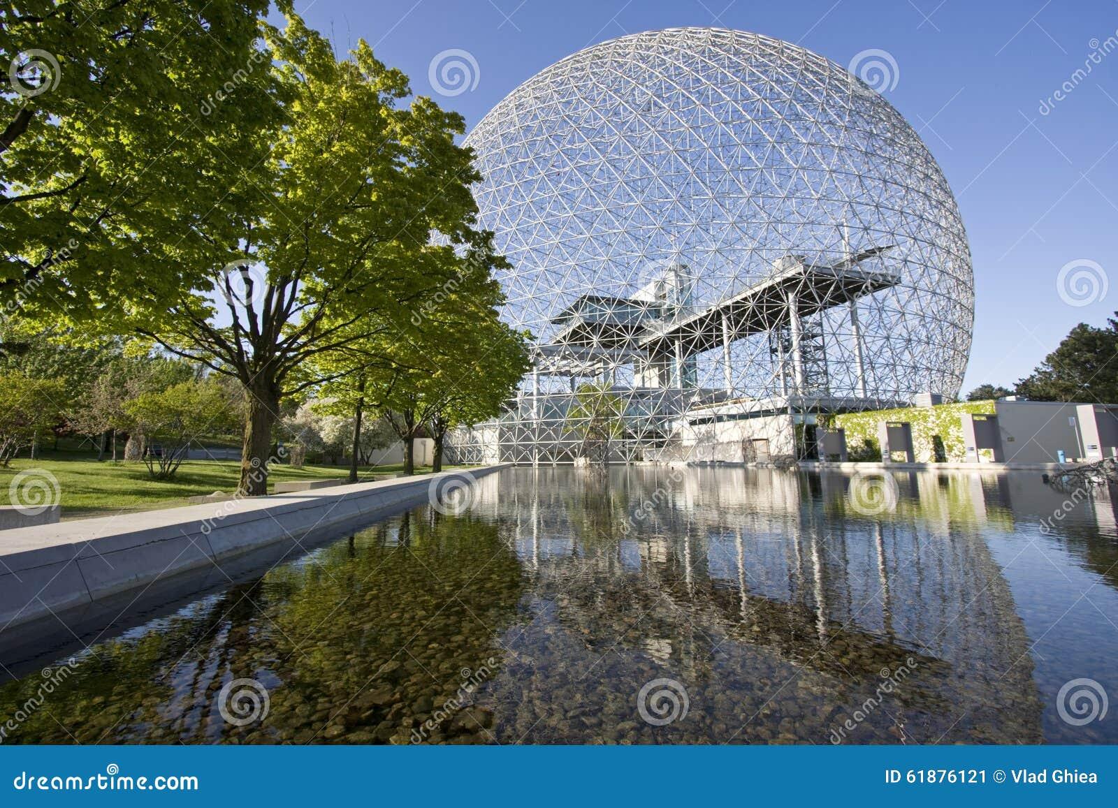 Biosfera a Montreal, Canada, Quebec