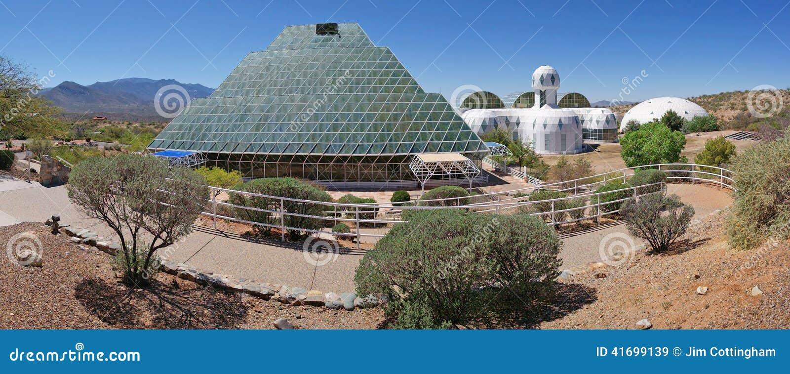Biosfera 2 - panorama