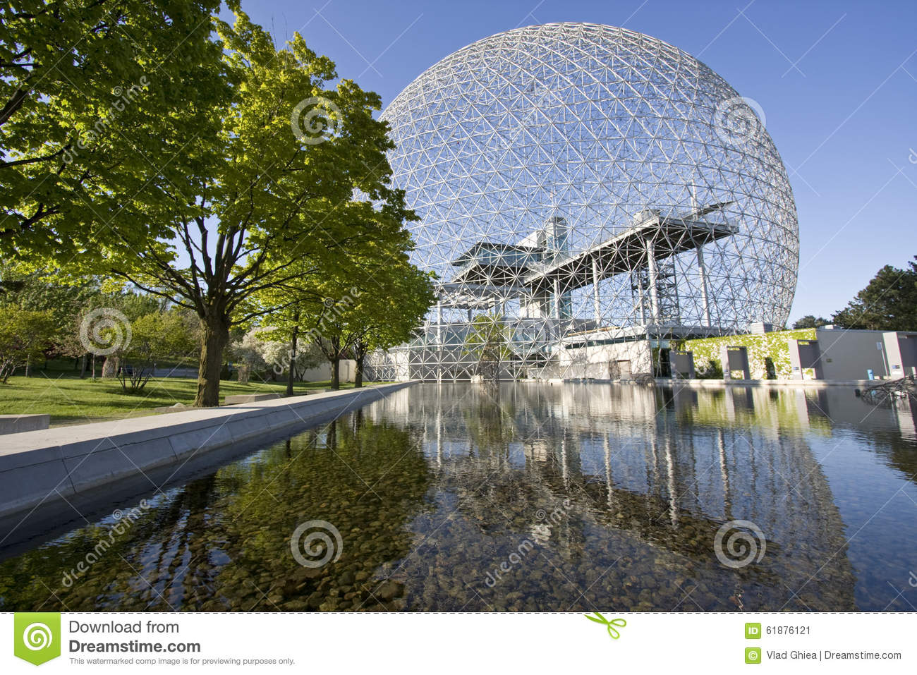 Biosphere in Montreal, Canada, Quebec