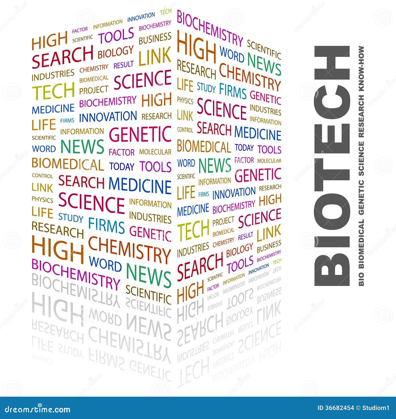 BIOTECH. stock vector. Illustration of explore, chromosome ...