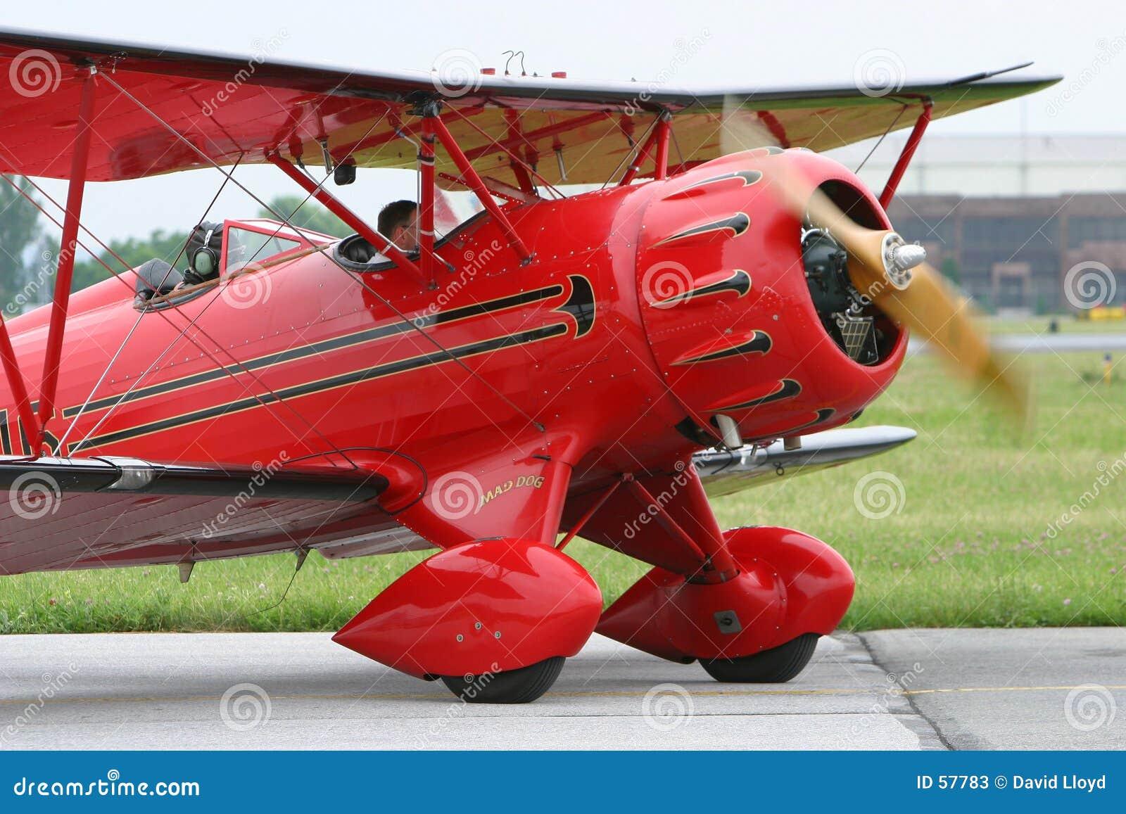 Download Biplan image stock. Image du propulseur, biplan, transport - 57783