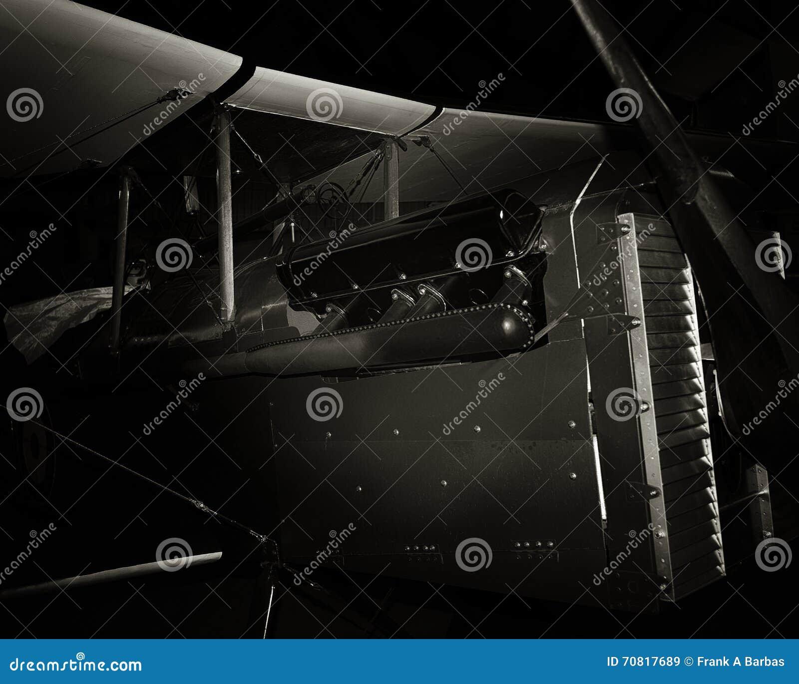 Biplan de guerre mondiale SE5