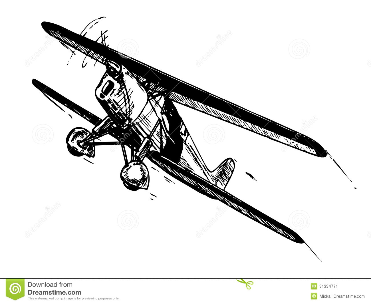 Biplane Stock Illustrations – 1,322 Biplane Stock Illustrations ...