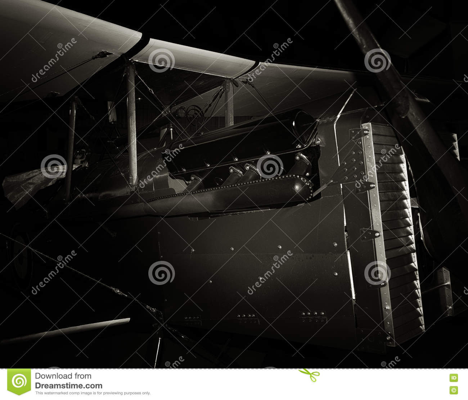Biplano de la guerra mundial SE5