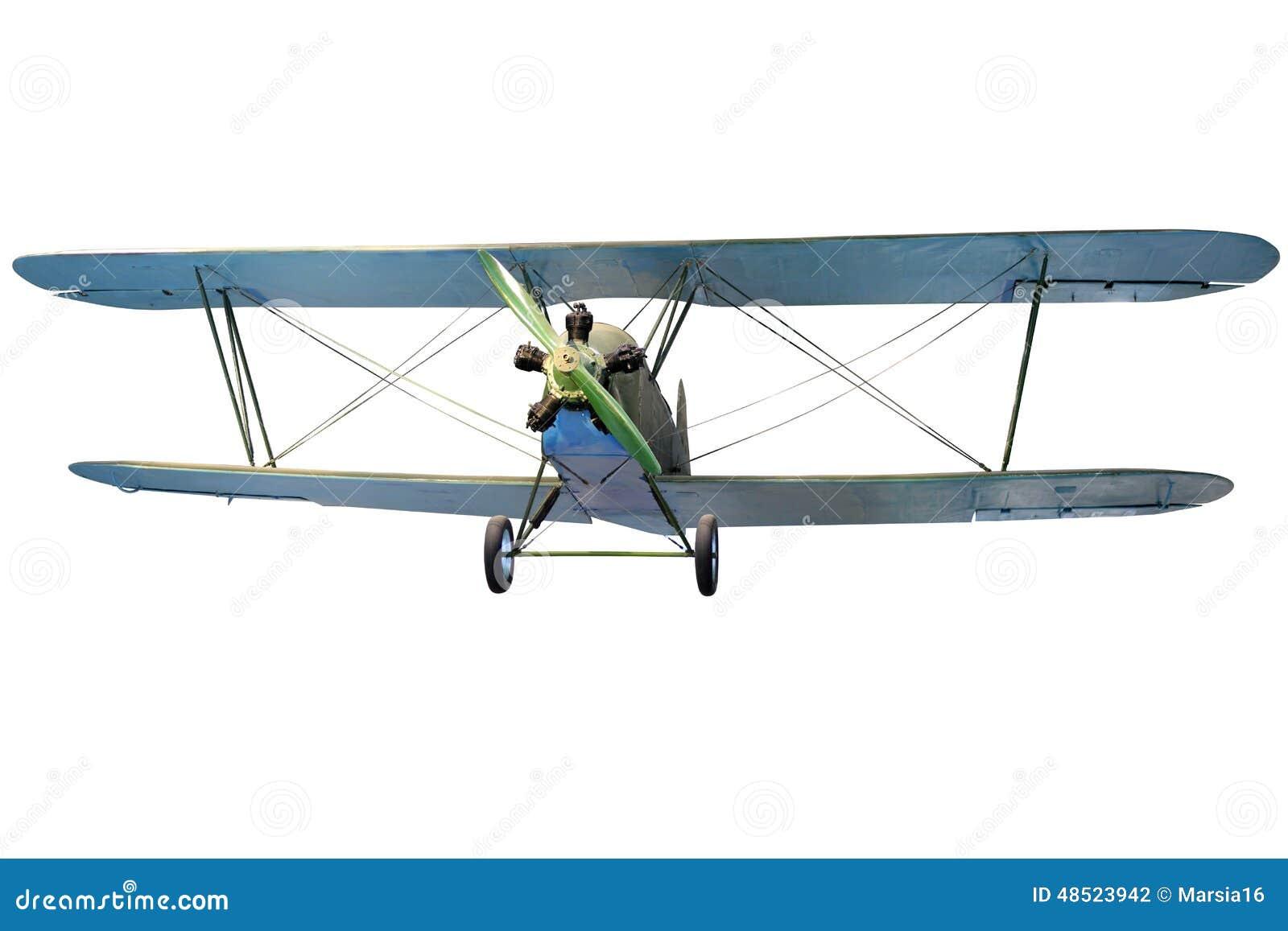 Biplano do voo