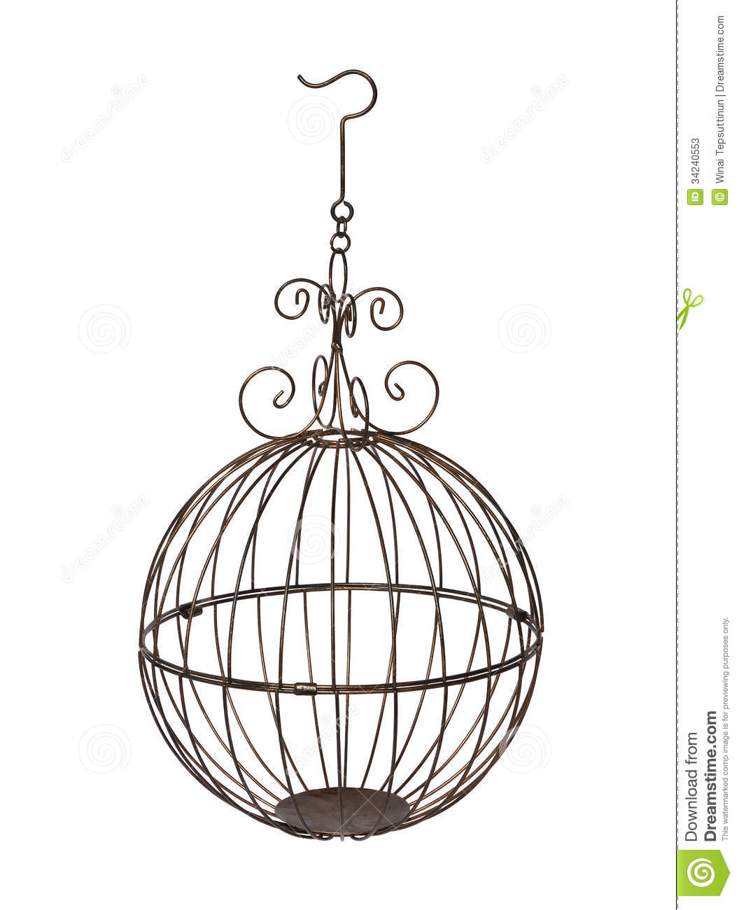 Bird Cage Stock Photos - Image: 34240553 Chinese Lantern Clipart