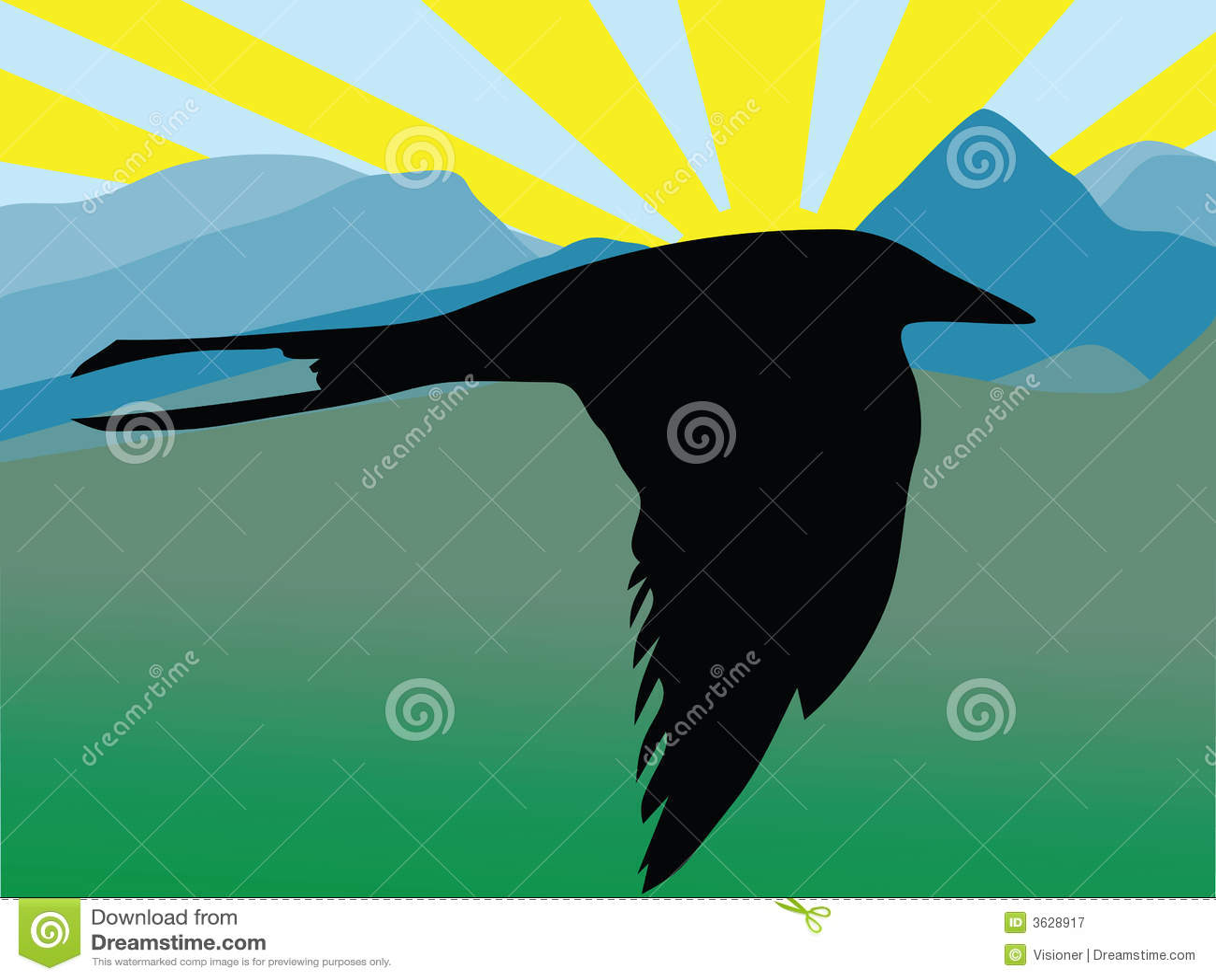 Royalty Free Stock Photography Bird Flying Image3628917