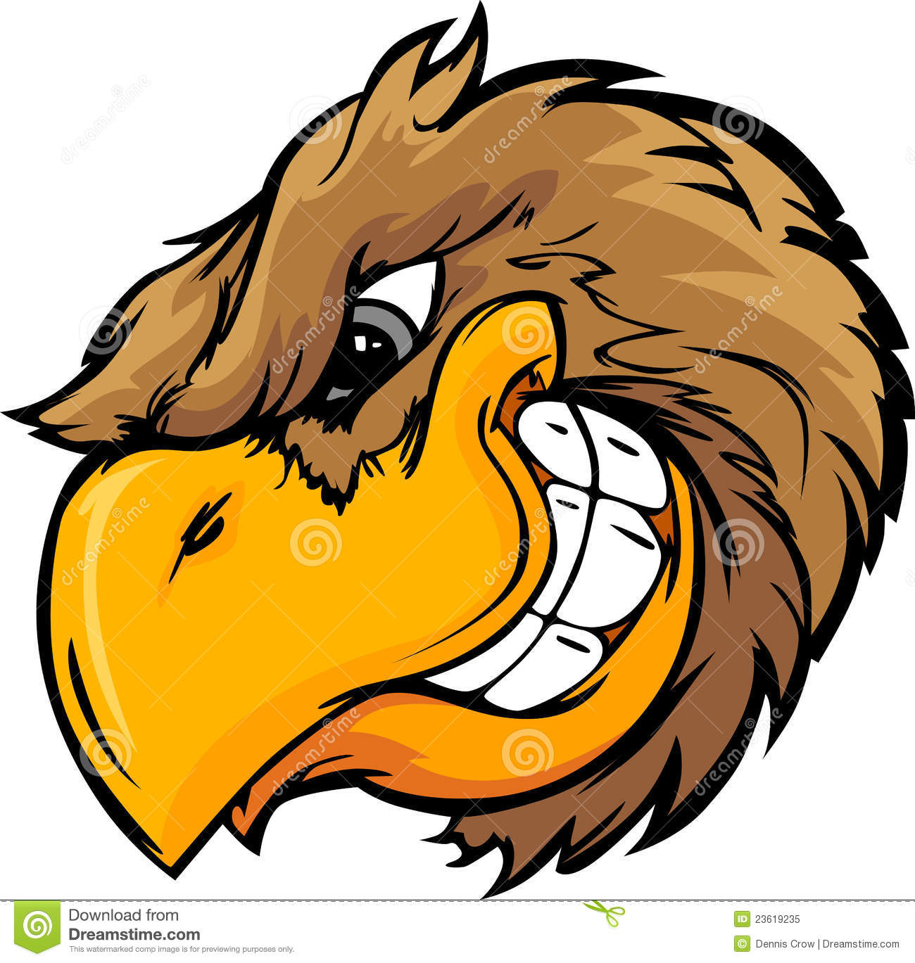 Bird Head Cartoon Illustration Royalty Free Stock Photo - Image ... Eagle Silhouette Vector
