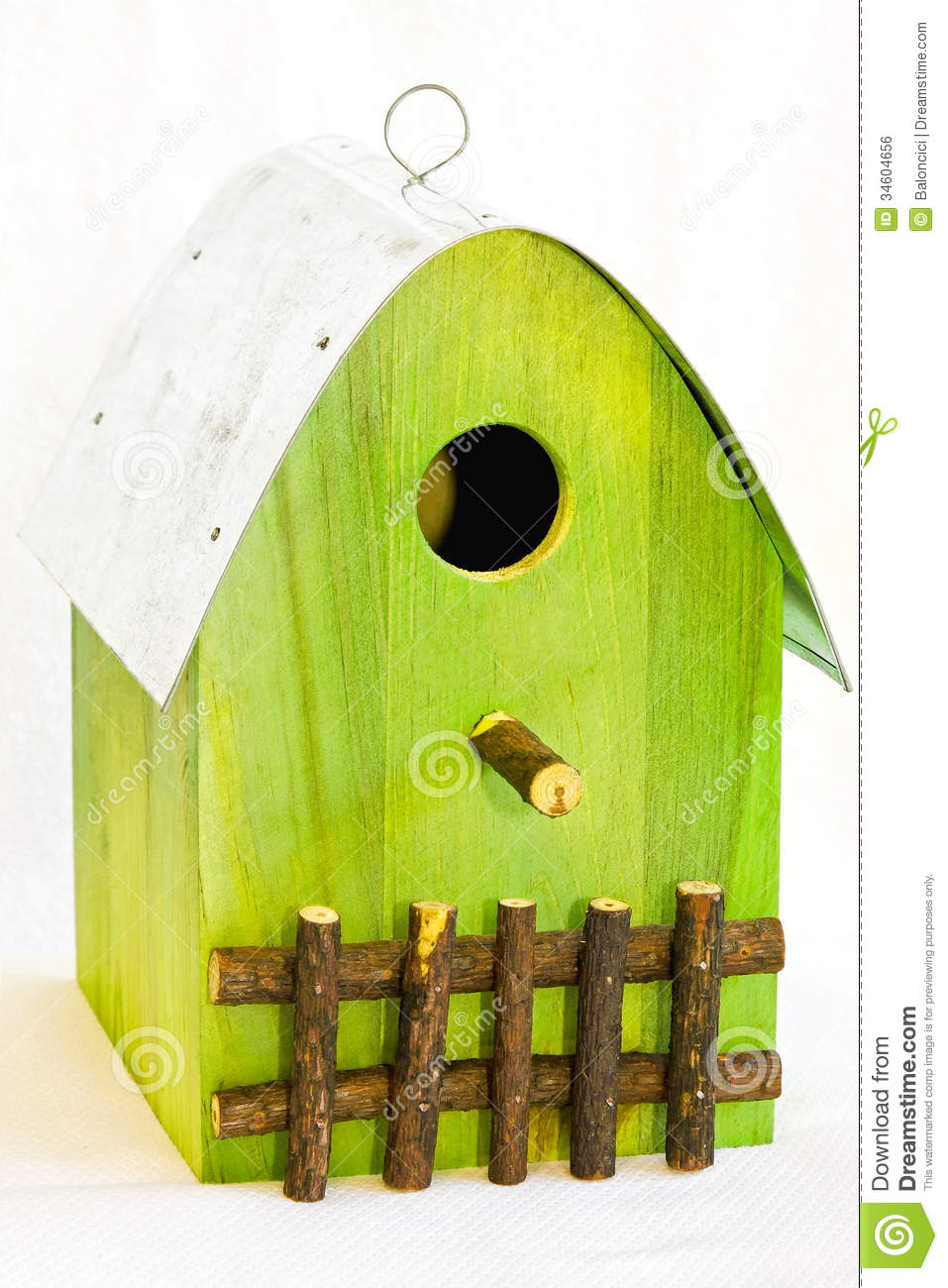 Bird House Royalty Free Stock Image - Image: 34604656