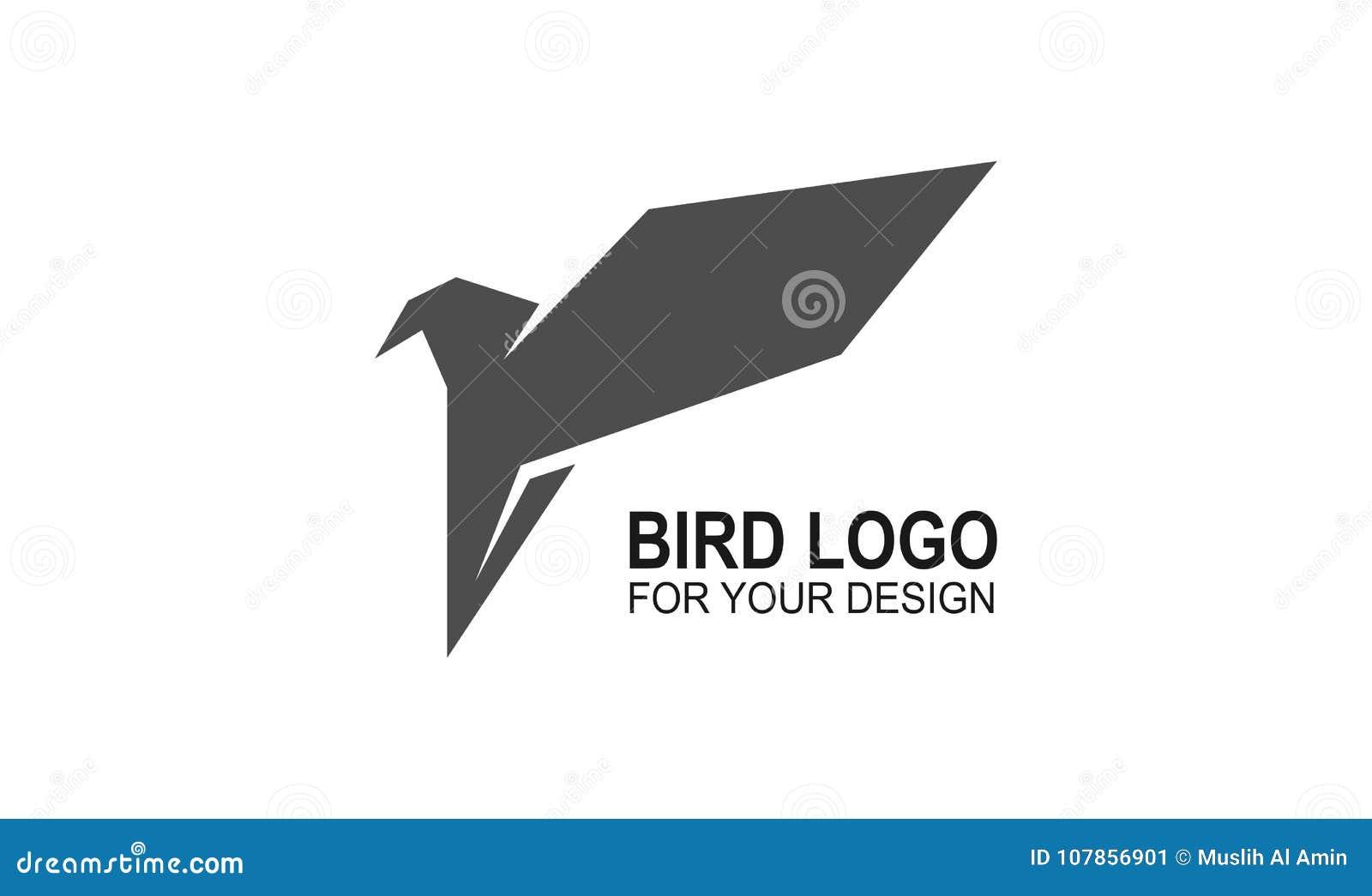 Bird icon vector, logo illustration design. symbol or mascot