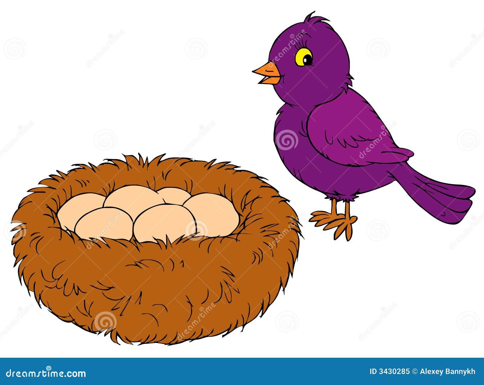 Bird nest clip art - photo#10