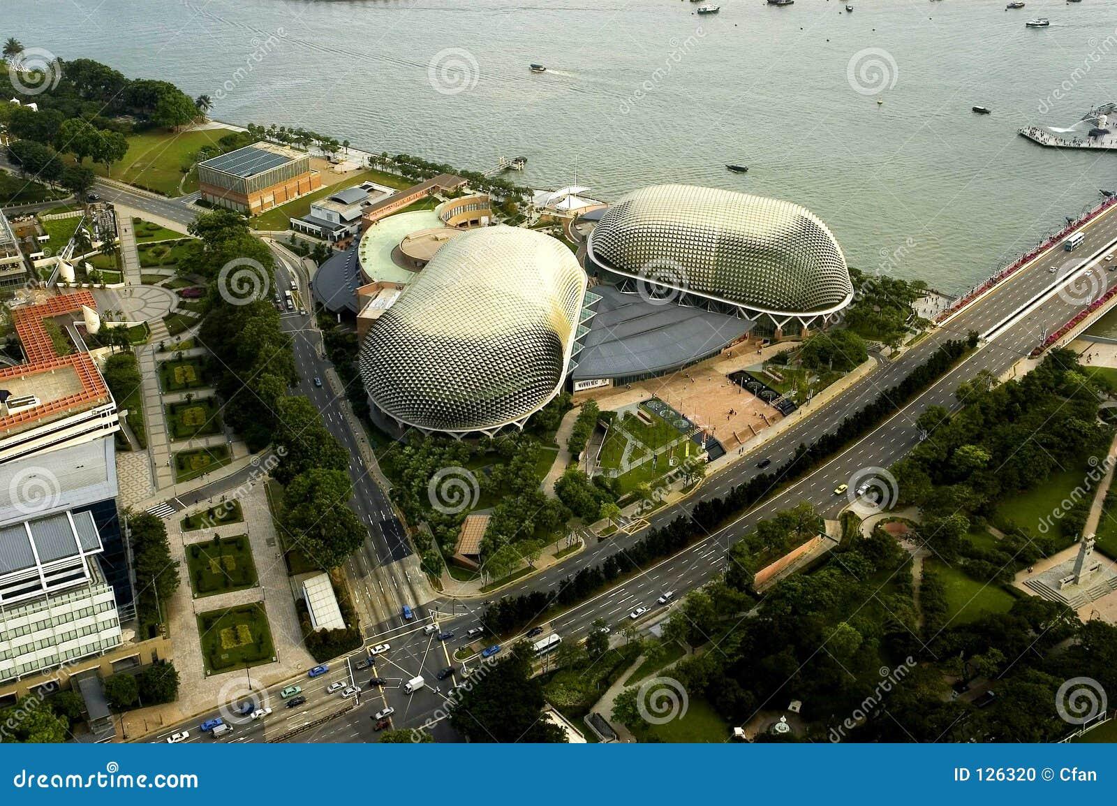 Bird S Eye View Of Singapore Stock Photo Image 126320