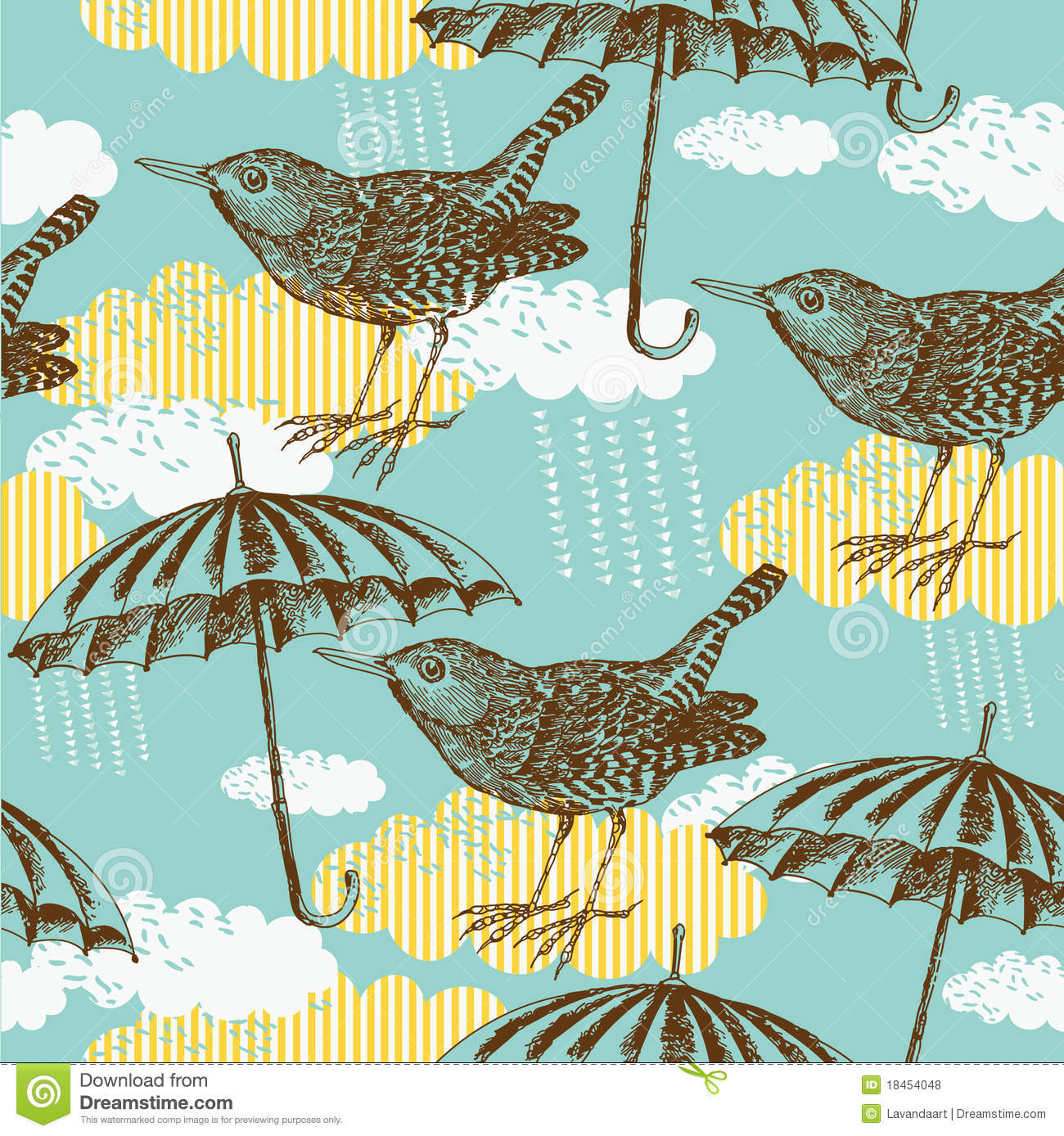 Umbrella Pattern Simple Inspiration