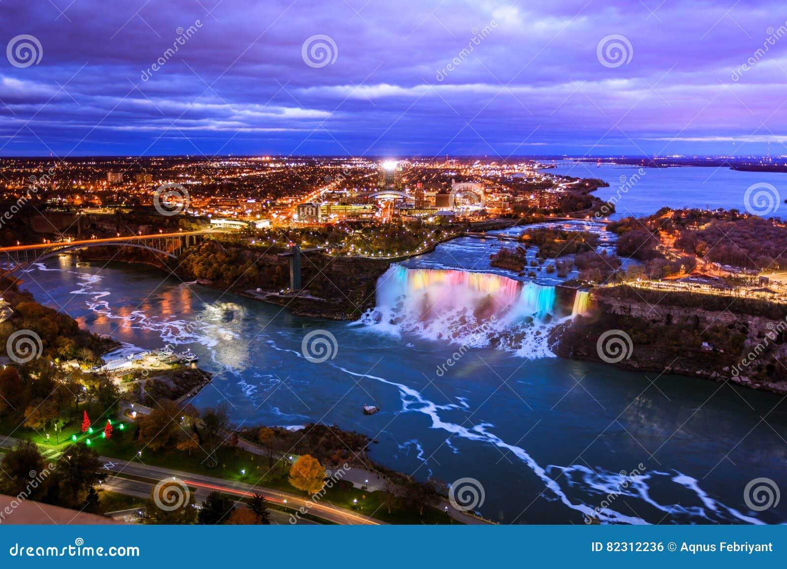 Bird View of Niagara Falls
