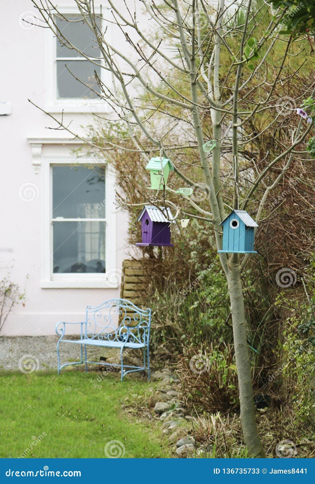 Birdhouses на дереве