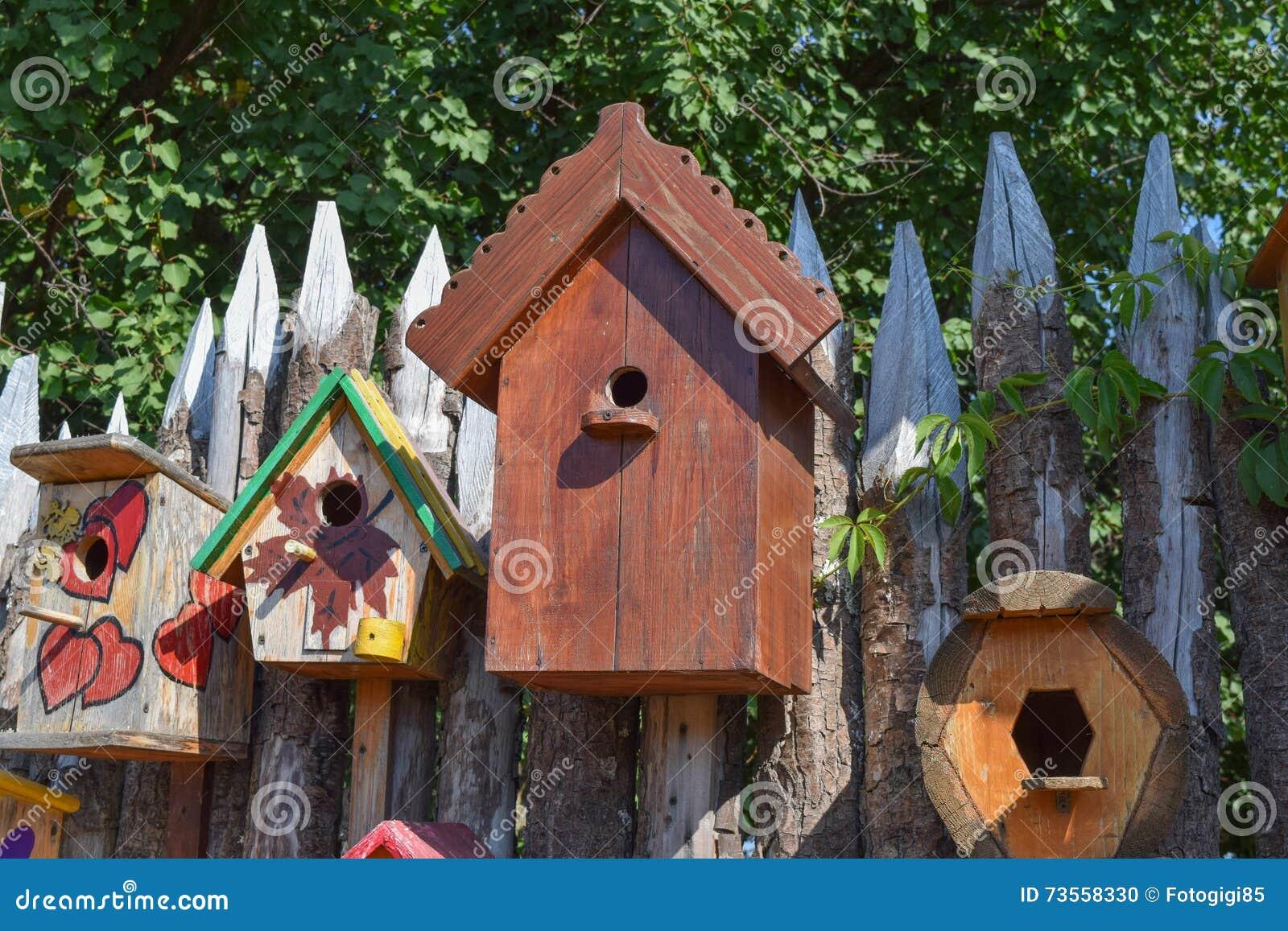 Birdhouses, дома для птиц