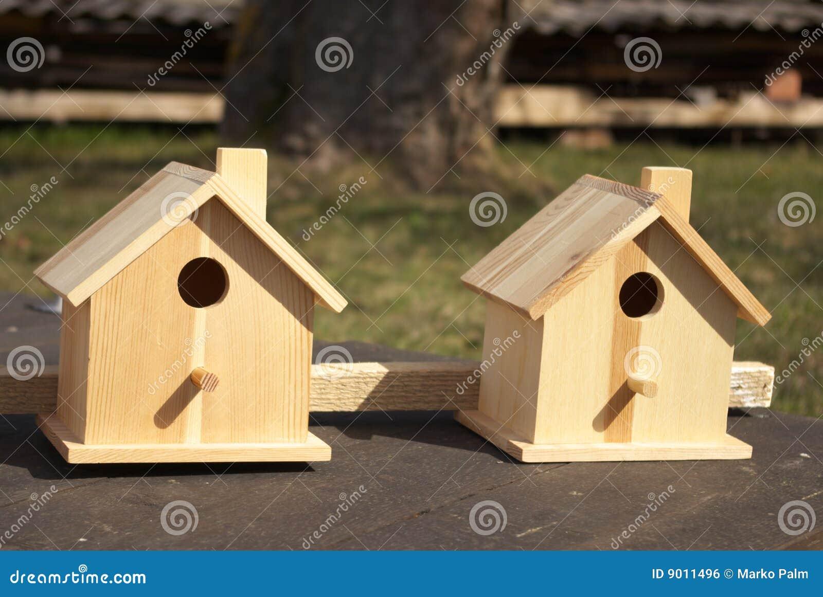 Birdhouses 2 деревянные
