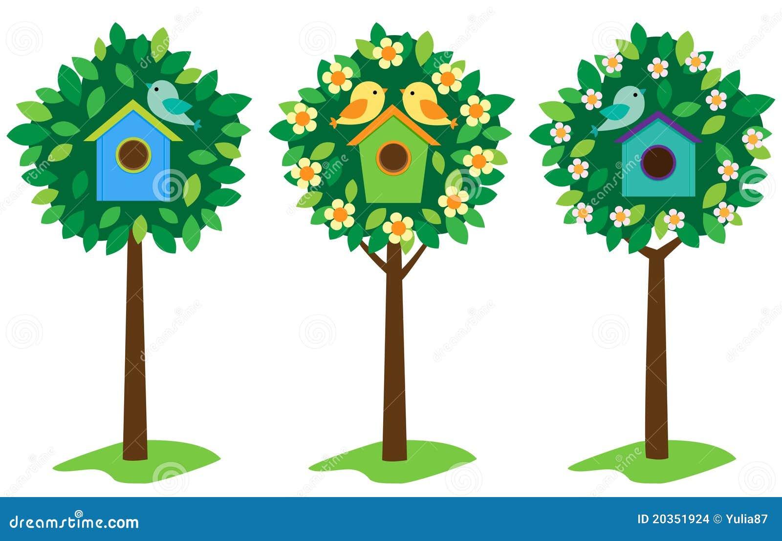 Birdhouses drzewa