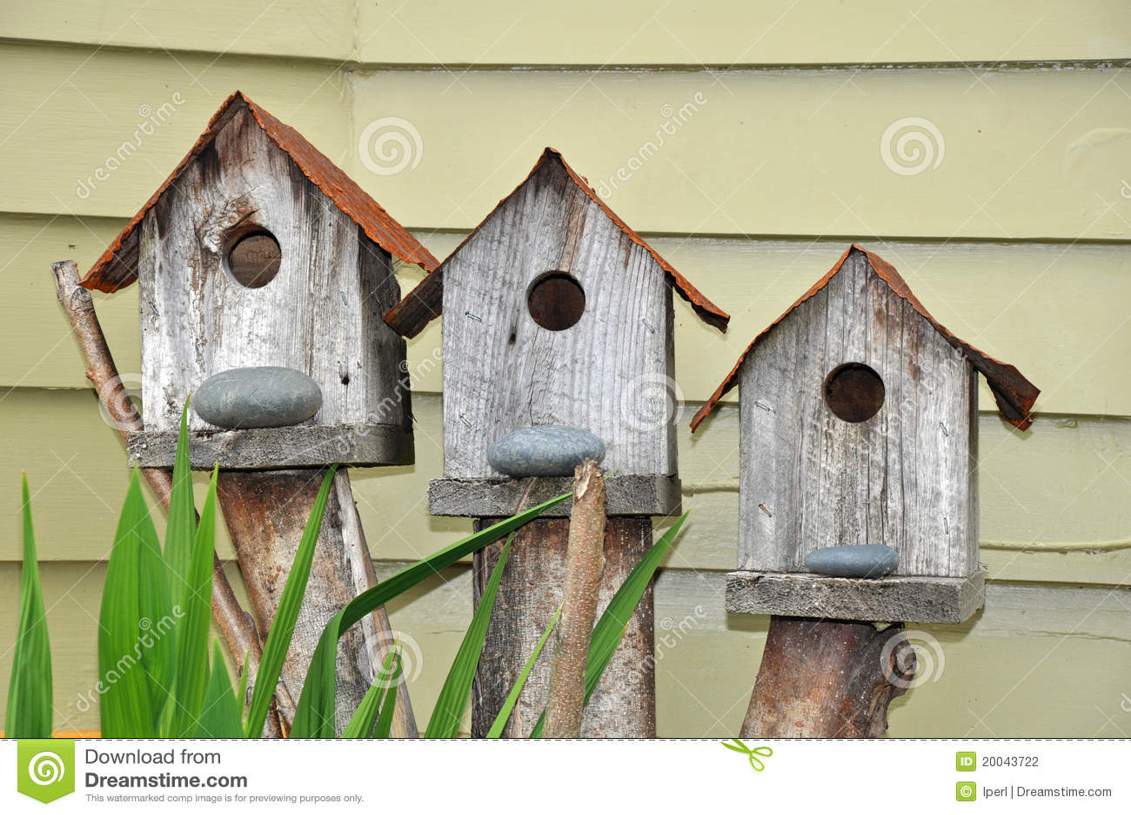 Birdhouses tre