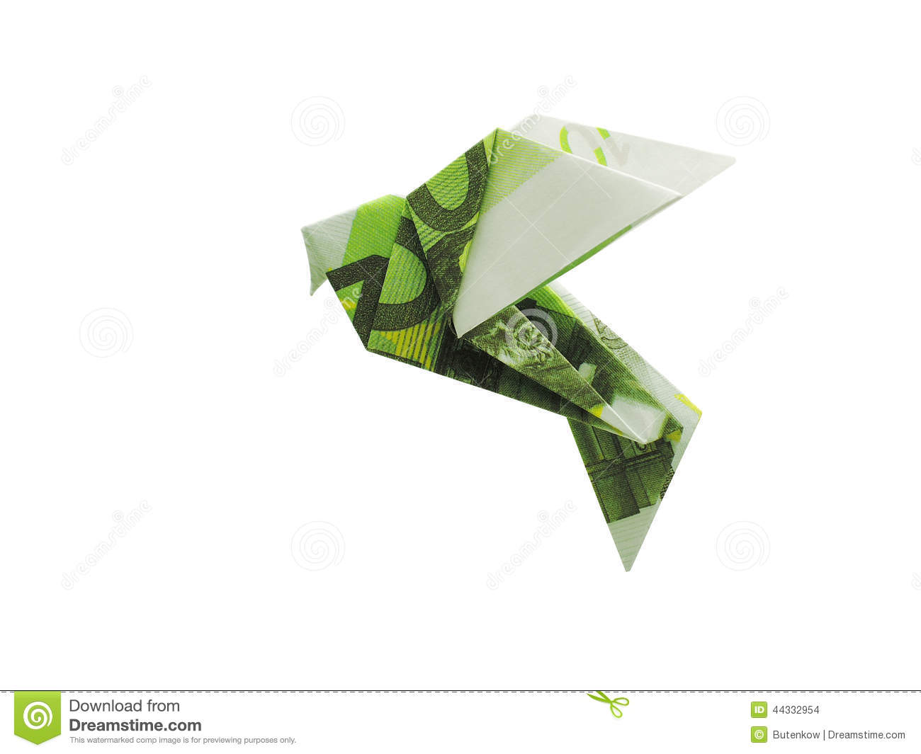 birds from 100 euro banknotes stock photo image 44332954