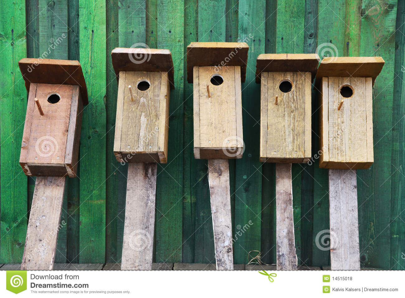 Birds houses stock photo  Image of plan, cage, high, build