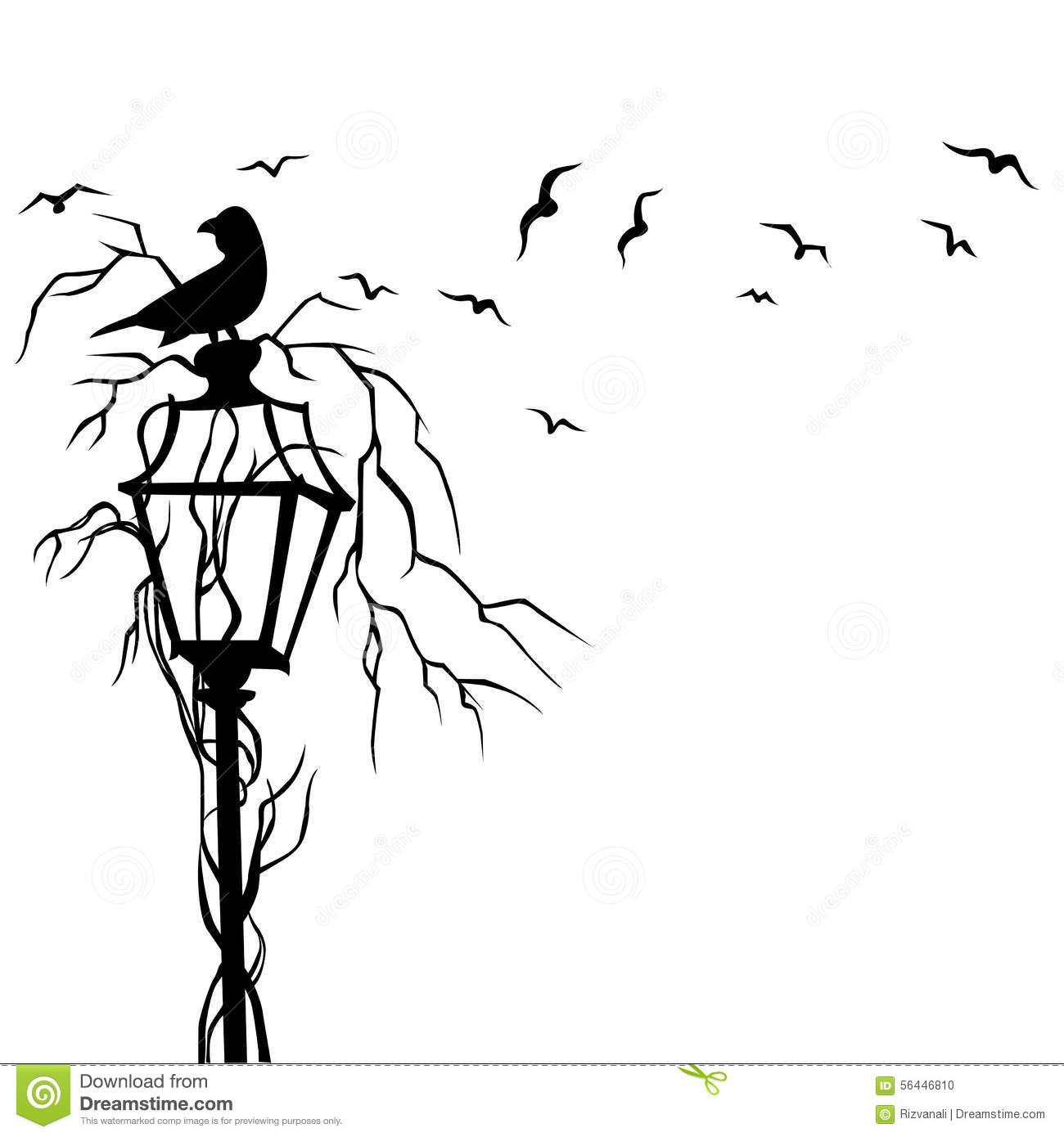 wall sticker art vector wall sticker art vector birds in street wall decal vector illustration stock photo
