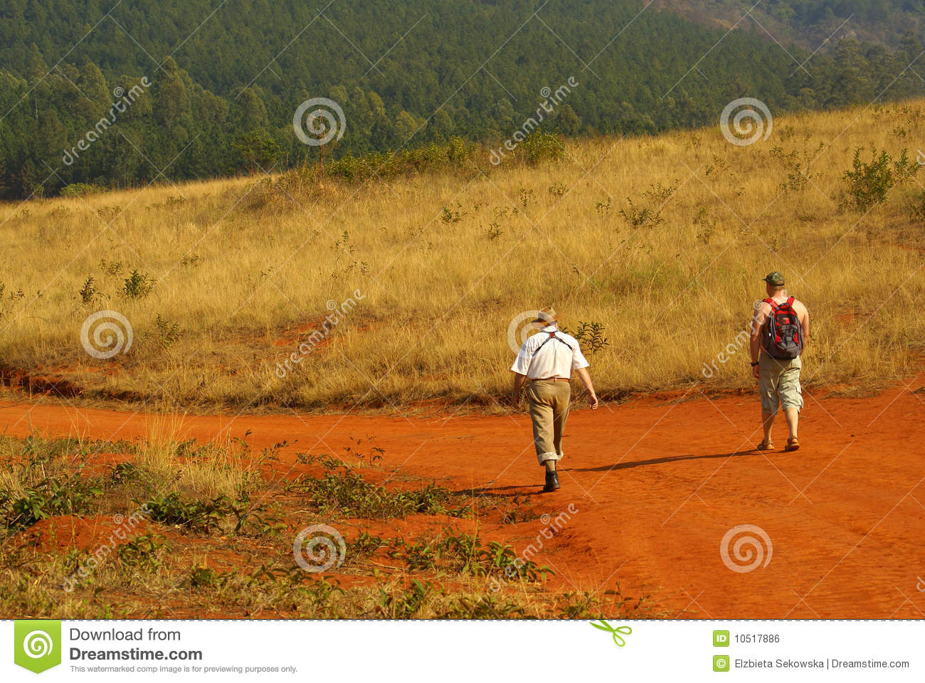 Birdwatchers che trekking in Sudafrica