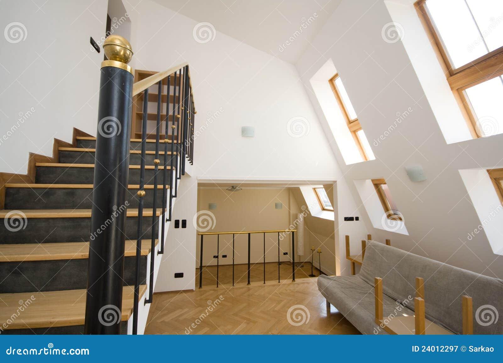 Modern Bright Interior Royalty Free Stock Photography