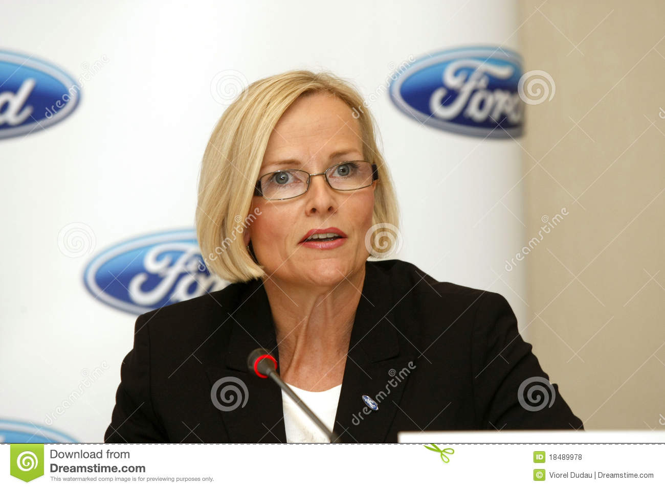 Birgit behrendt ford motor company editorial stock photo for Ford motor company credit card