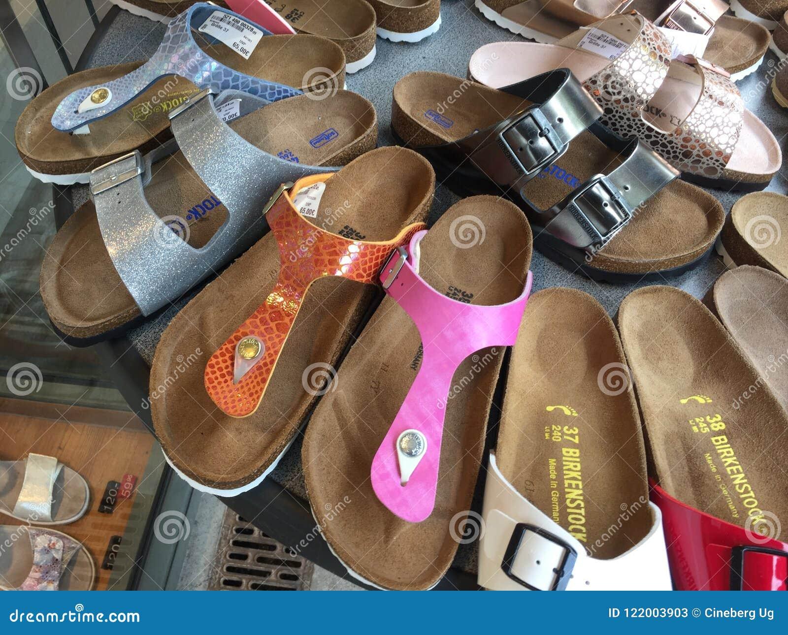 Birkenstock Sandals For Sale Editorial