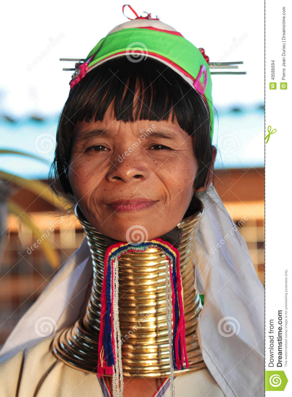 Myanmar Women Neck Rings