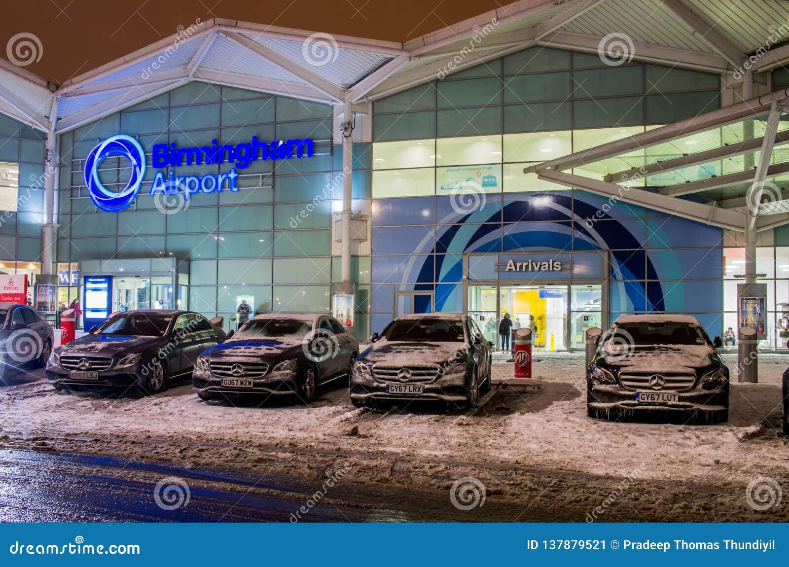 Birmingham airport building in Birmingham, United Kingdom