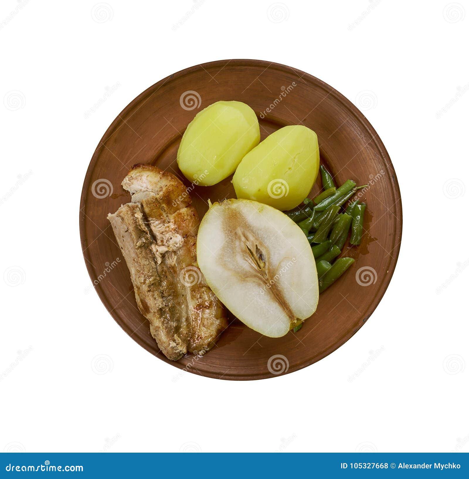 Birnen, Bohnen-und Fleck
