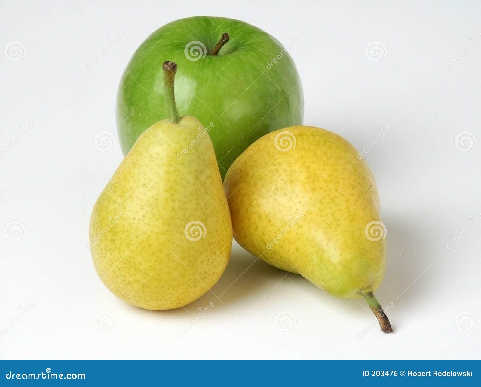 Birnen u. Apple