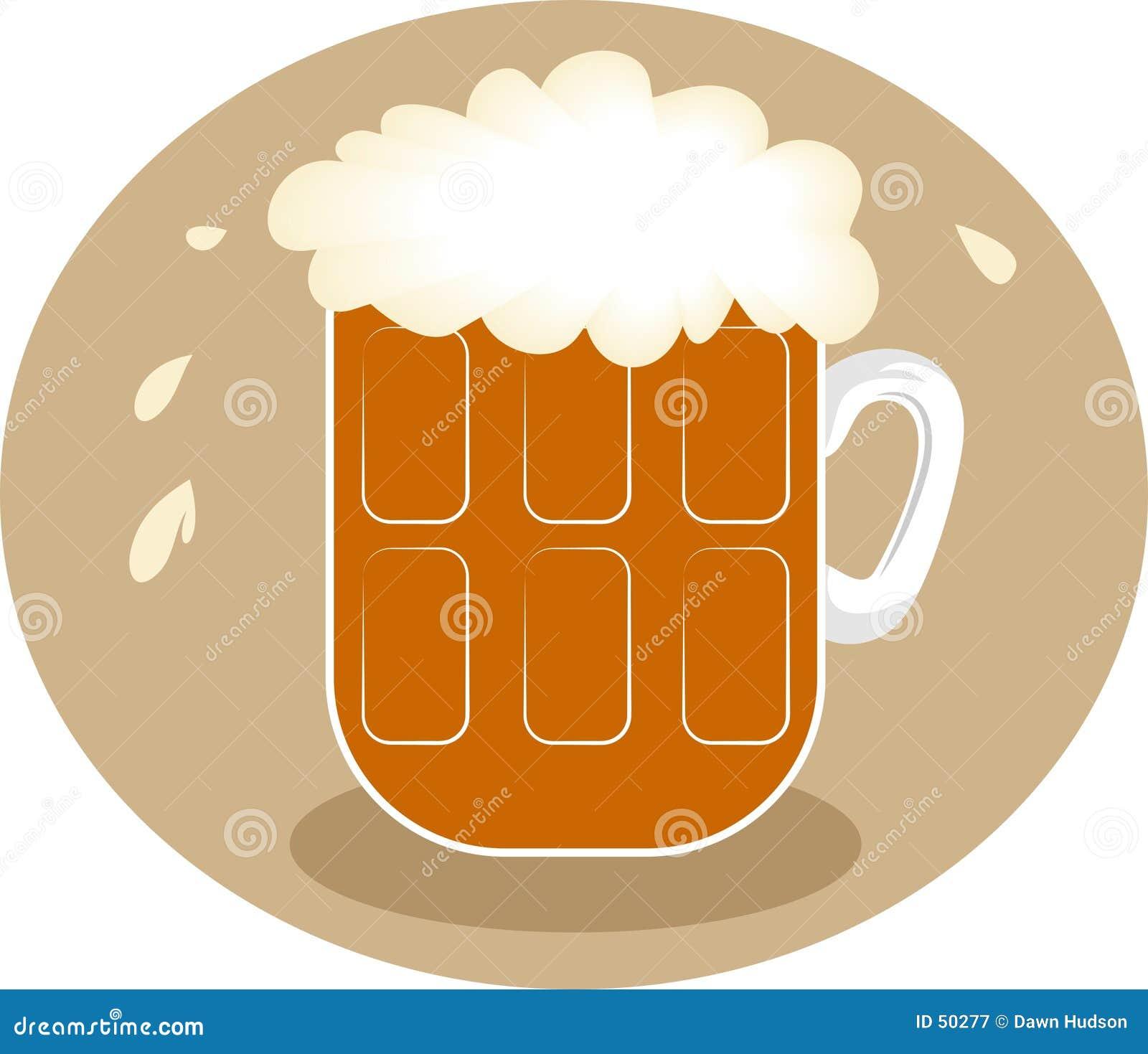 Birra schiumosa