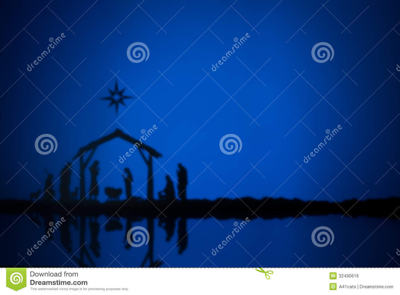 Birth Jesus Royalty Free Stock Image Image 32490616