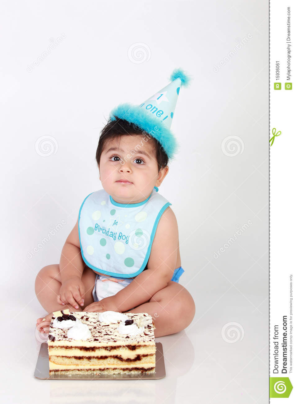 Birthday Baby Boy Stock Image Of Adorable Birth
