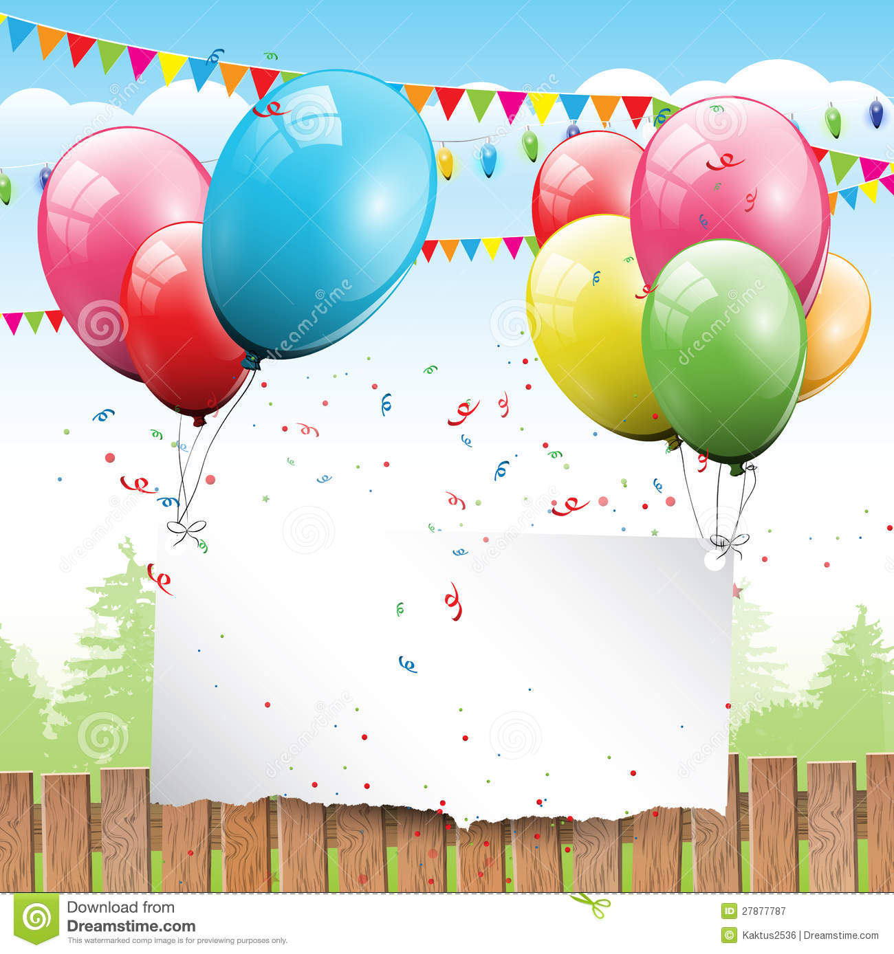 Birthday Background Royalty Free Stock Photography