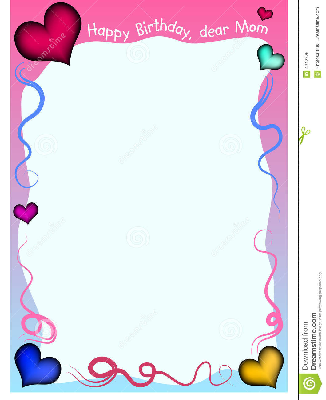 Birthday Background Stock Vector Illustration Of