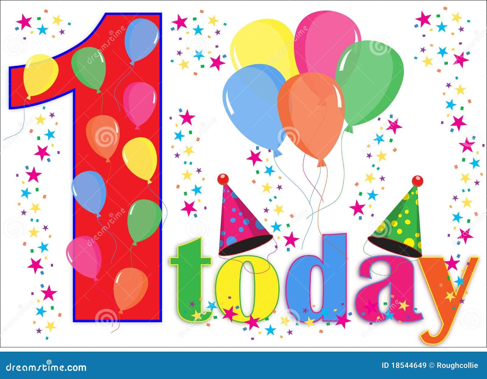 Birthday Balloons Background 1 Today
