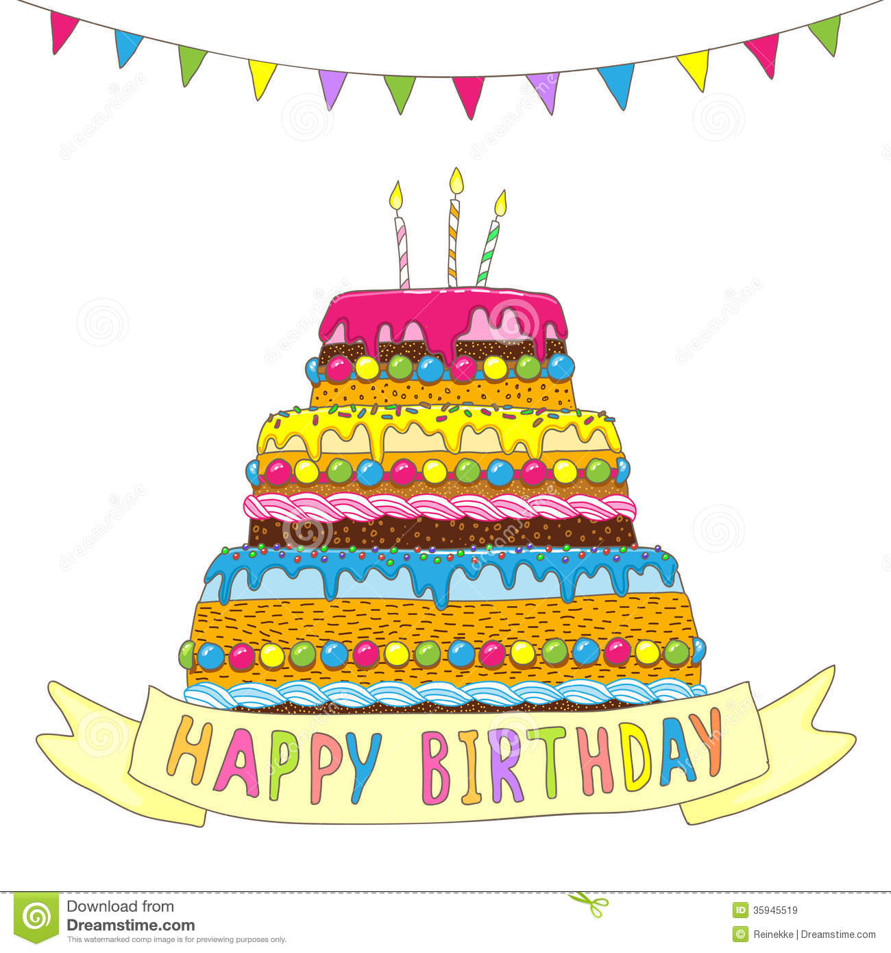Big Cake Images Download : Birthday Royalty Free Stock Images - Image: 35945519
