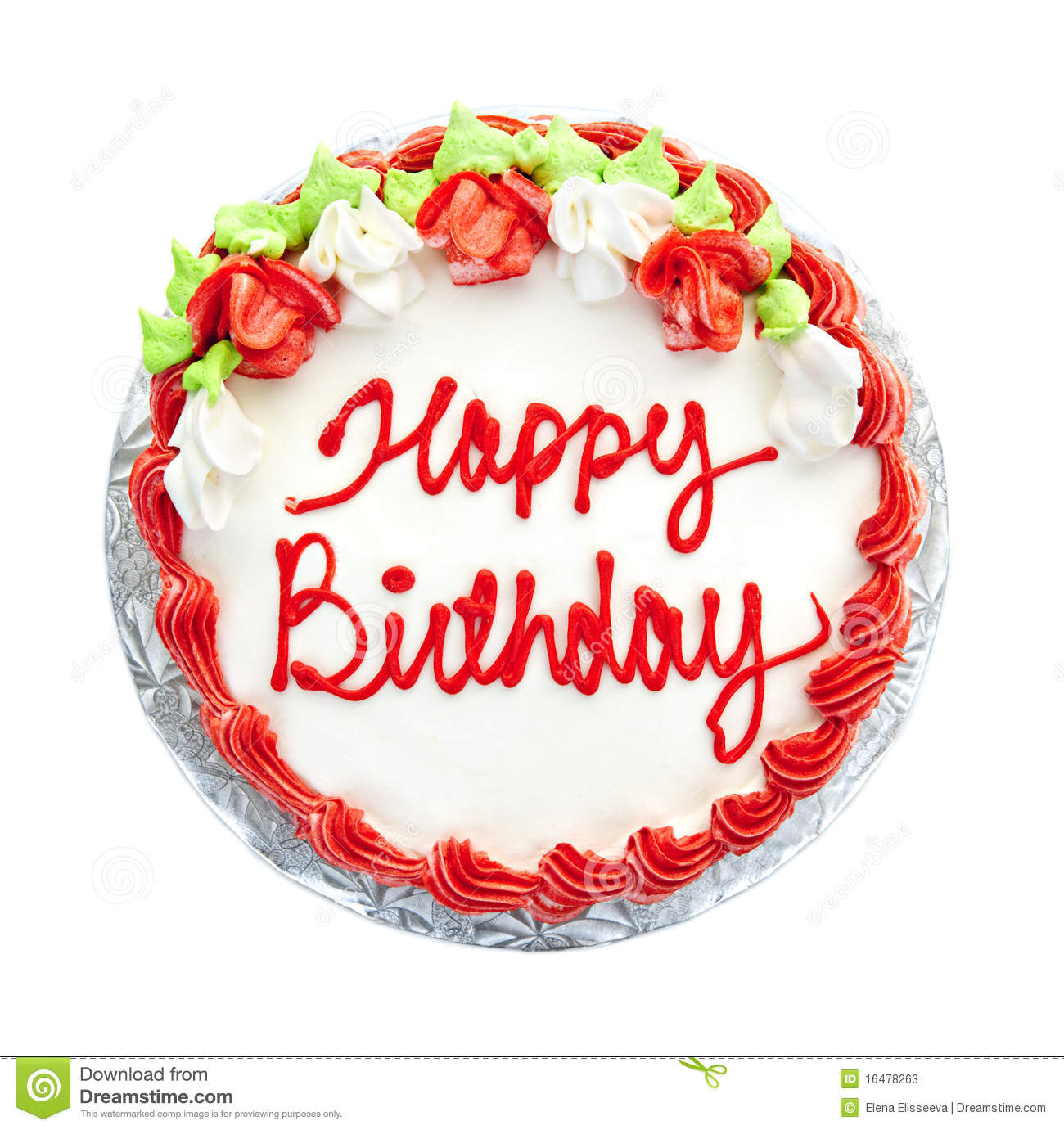 Elegant Birthday Cake With Candles Image Inspiration of Cake and