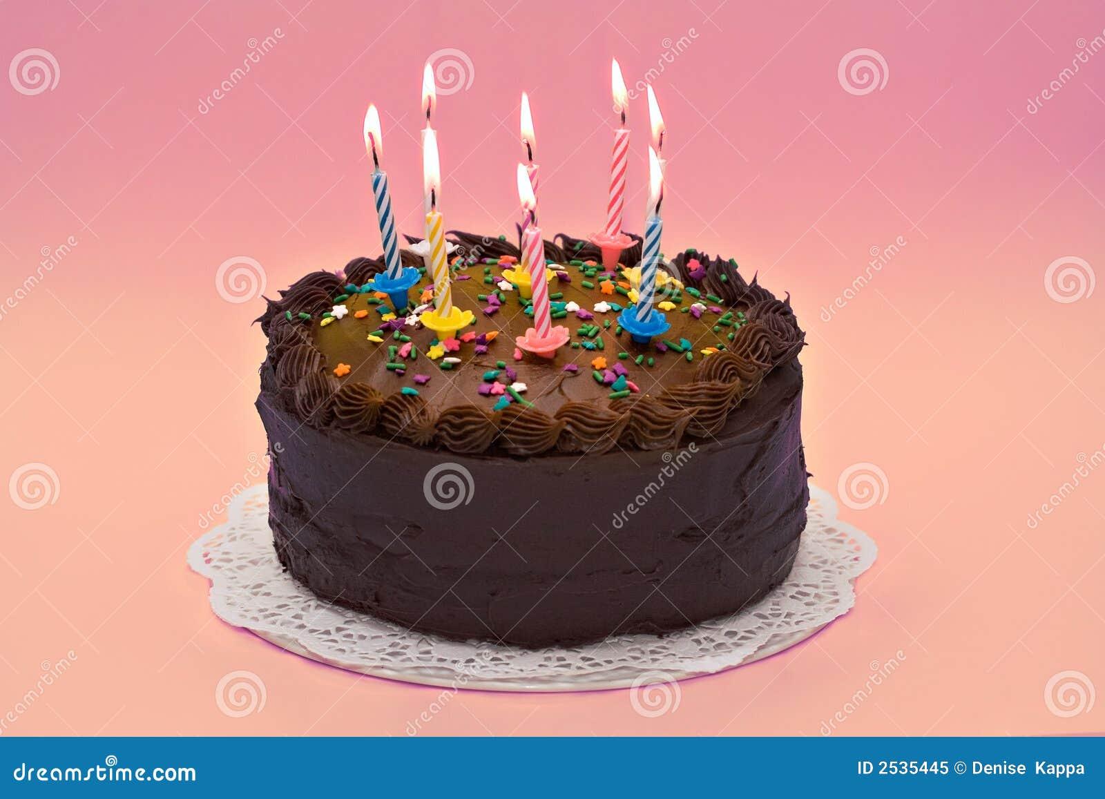 Birthday Cake Royalty Free Stock Photo Image 2535445