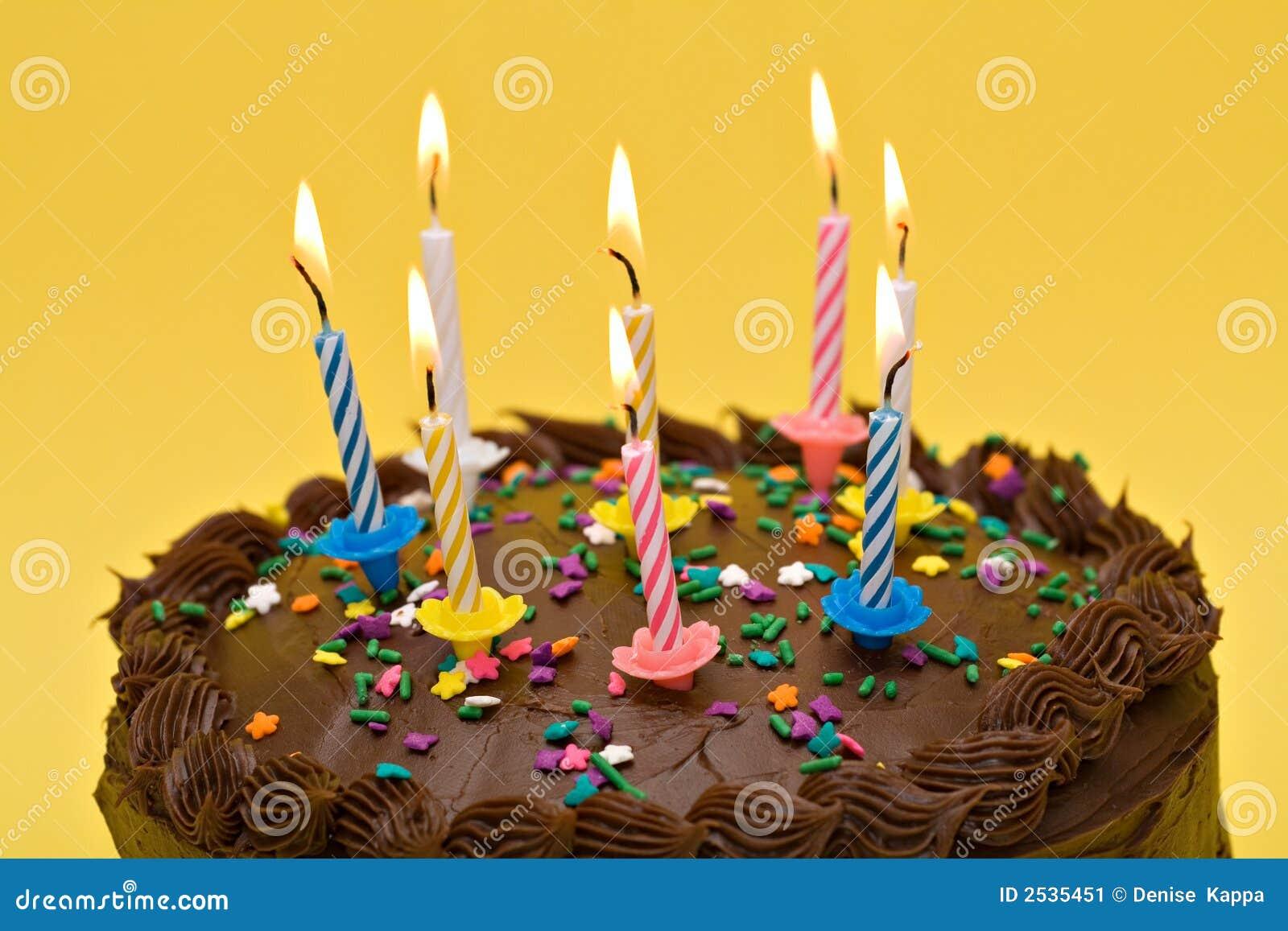 Birthday Cake Stock Image Image Of Birthday Confetti
