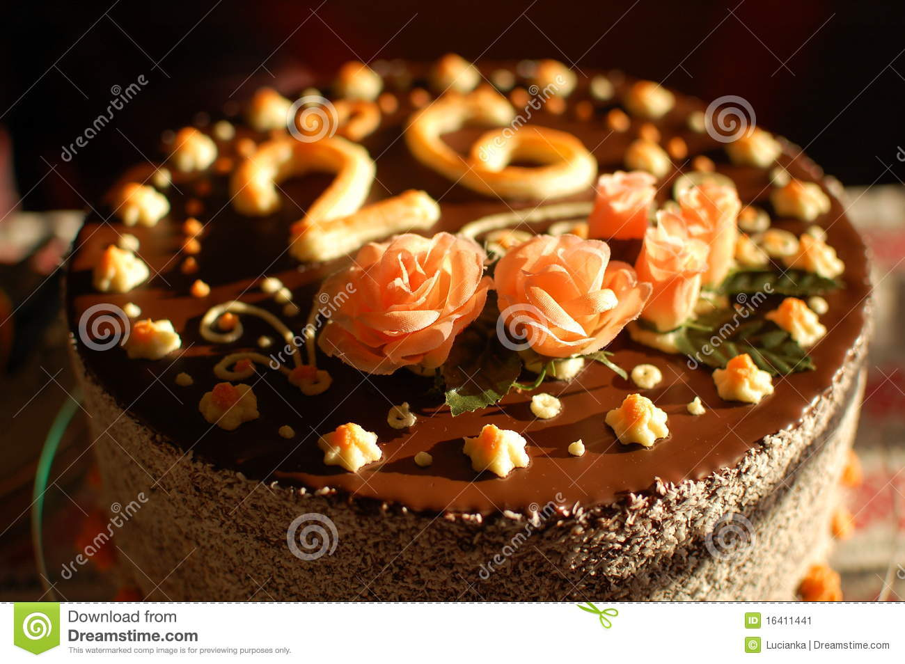 Birthday Cake 26 Stock Image Image Of Birthday Marchpane