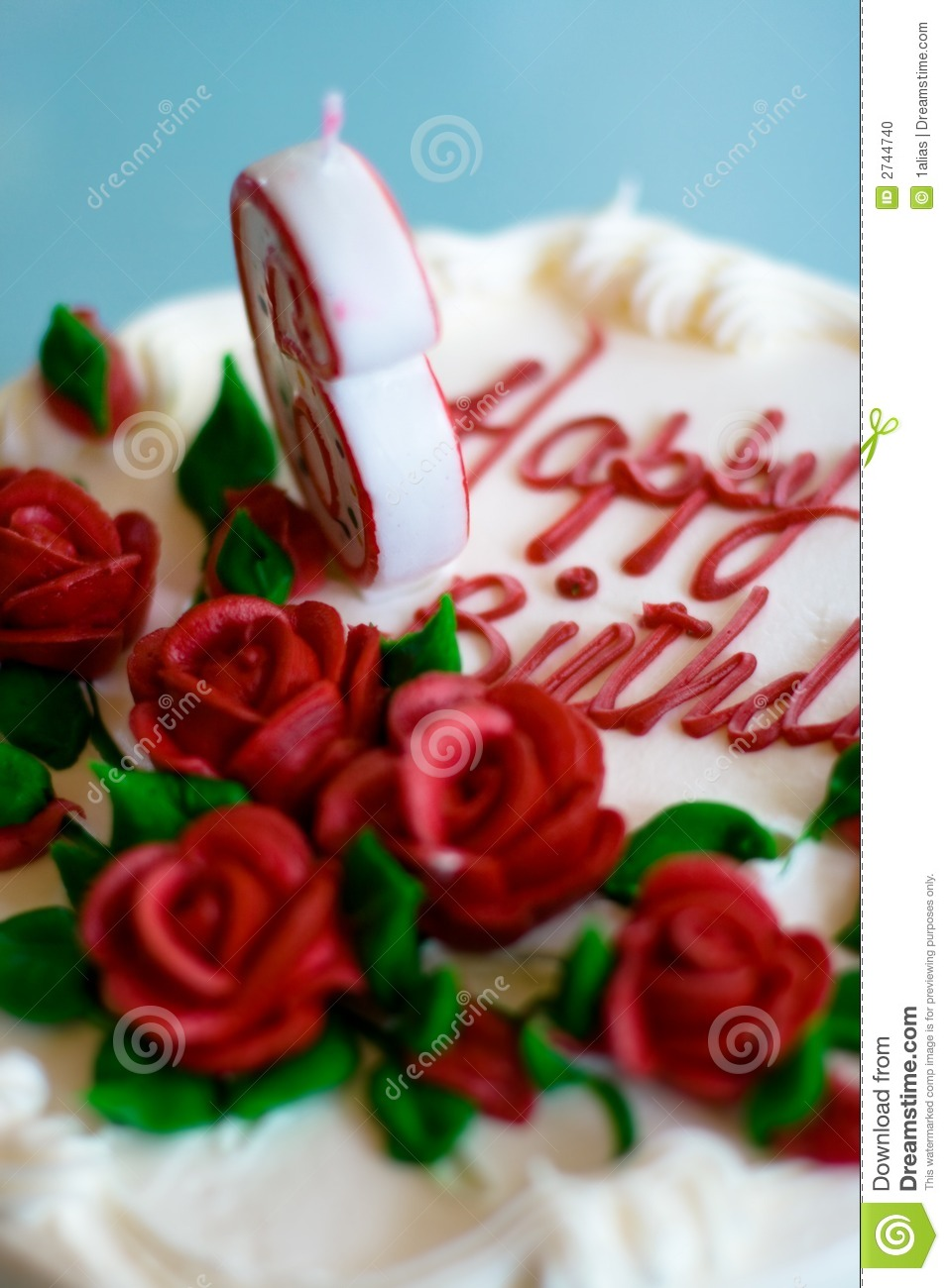Birthday Cake Stock Photo Image Of Cake Decorations 2744740