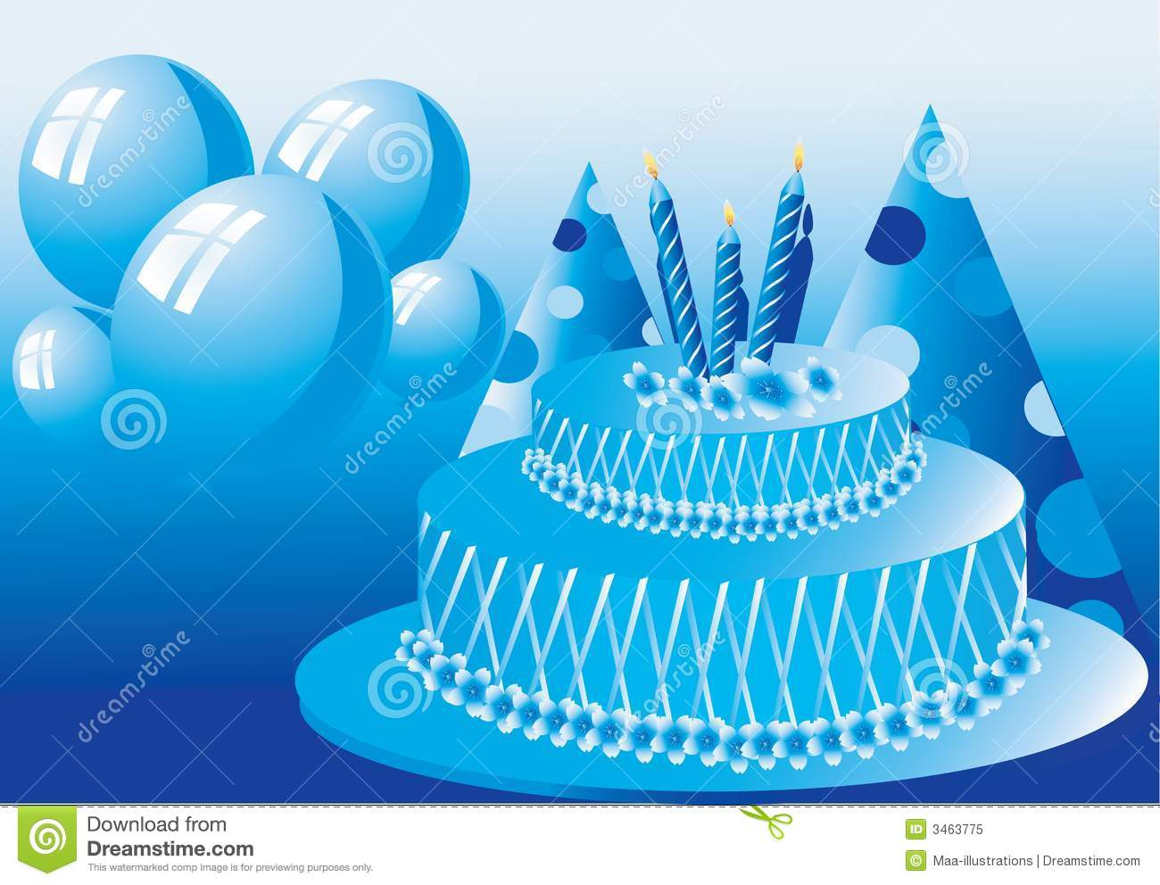 Birthday Cake Images For Maa : Birthday Cake Royalty Free Stock Photo - Image: 3463775