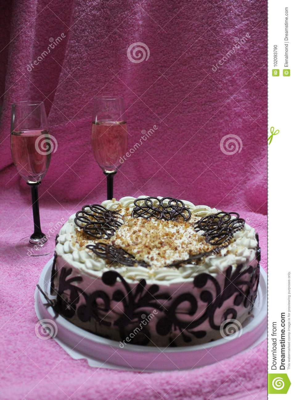 Birthday Cake Stock Photo Image Of Adorn Fall Aroma 102093790