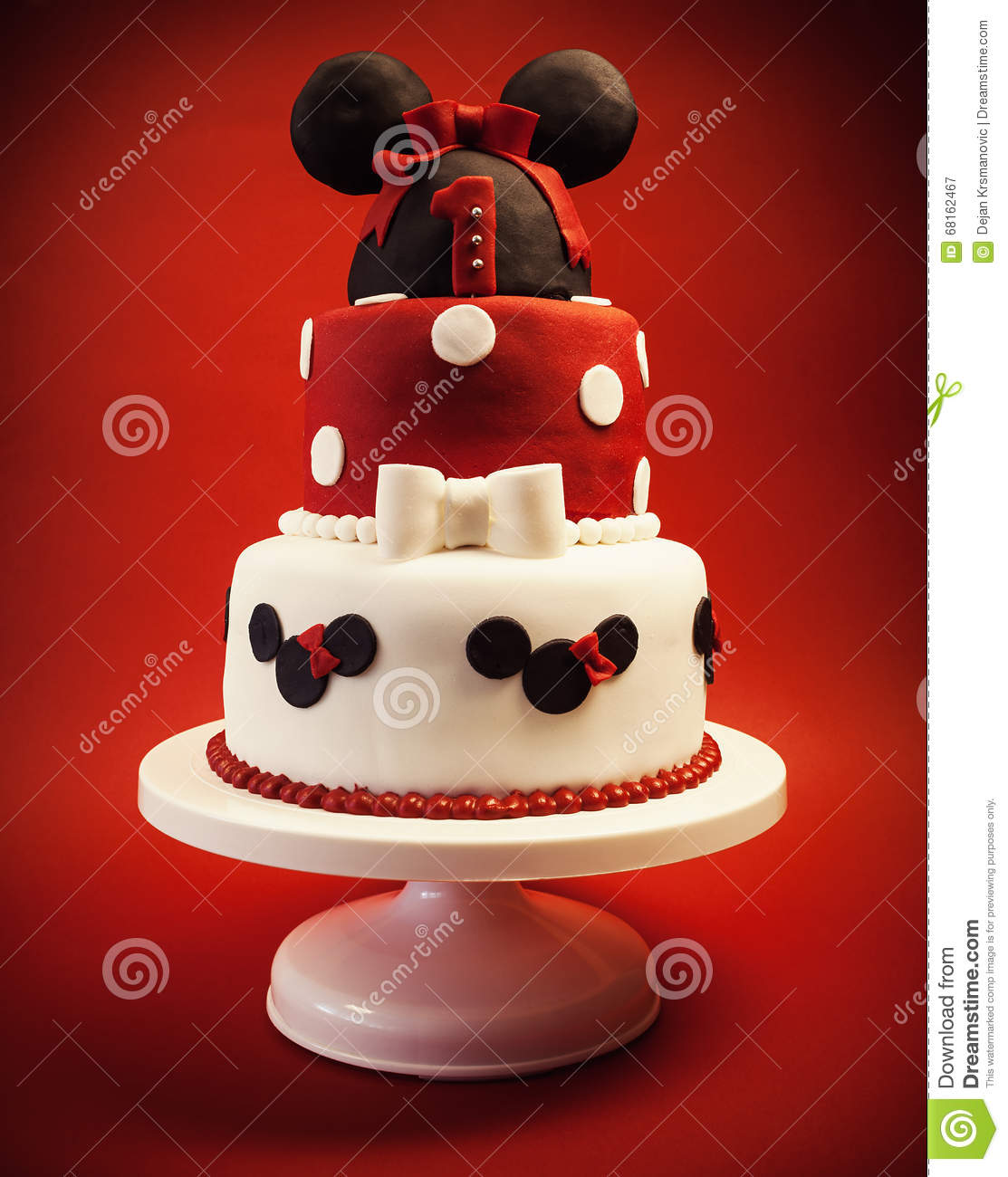 Birthday Cake For Baby Girl Stock Image Image Of Birthday Life